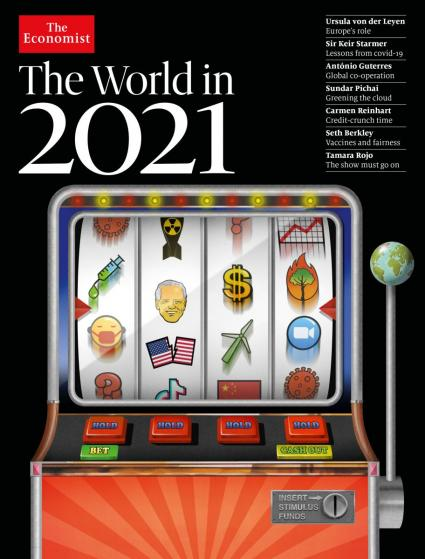 The Economist The World in 2021 Bild
