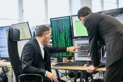 Cyber Sicherheits Center von Radarservices